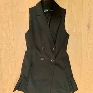 Zara Sleeveless Mini Dress
